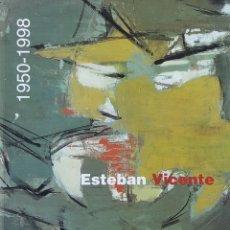 Arte: ESTEBAN VICENTE 1950-1998. EXPOSICIÓN MUSEO NACIONAL CENTRO DE ARTE REINA SOFÍA, 1998. Lote 183074375