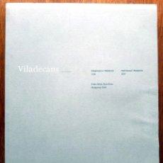 Arte: VILADECANS. SÍMPTOMES I MALALTIES 2006. PATRIMONI I MEMÒRIA 2007 (GENERALITAT DE CATALUNYA). Lote 183277867