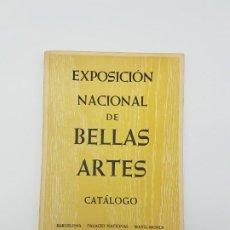 Arte: CATÁLOGO EXPOSICIÓN BELLAS ARTES, BARCELONA 1960. Lote 183584973