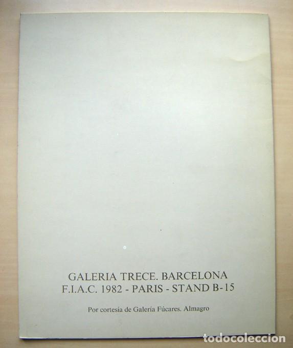 Arte: Joaquín Sáenz. Galería Trece, FIAC París 1982 - Foto 2 - 184029871