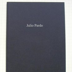 Arte: JULIO PARDO (PAMPLONA, 1957). GALERÍA MUELLE 27, MADRID, 2004. TEXTO FERNANDO GOLVANO. Lote 184033413