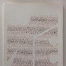 Arte: TALLER ESTUDIO DE ARISTAS PLÁSTICOS DEL CAMPO DE GIBRALTAR. Lote 184265940