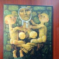 Arte: ANTONIO PEDRERO (PINTURAS, ESCULTURAS, DIBUJOS).CATÁLOGO.ZAMORA.CAJA DUERO. 2001. Lote 186026035