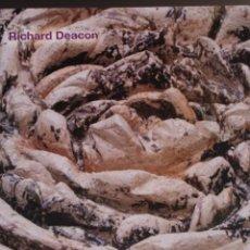 Arte: RICHARD DEACON. CAC MÁLAGA . ENRIQUE JUNCOSA. 25 X 29 CM. 120 PÁGINAS. PERFECTO.. Lote 186061550
