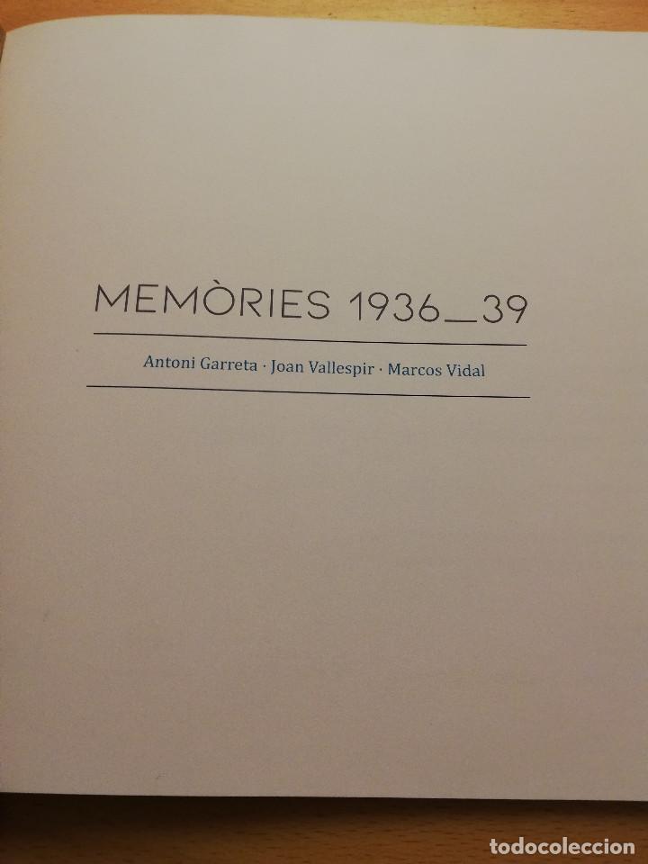 Arte: MEMÒRIES 1936 _ 39 (ANTONI GARRETA / JOAN VALLESPIR / MARCOS VIDAL) - Foto 2 - 186093663