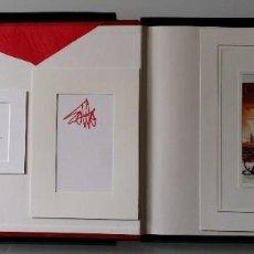 Arte: FIRMADO: ANTONIO SAURA, ANTONIO GADES, PLÁCIDO DOMINGO: CARMEN, LIBRO DE ARTISTA, 1985. Lote 187380105