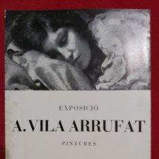 Arte: ANTON VILA ARRUFAT SALA PARÉS 1971. Lote 187391540
