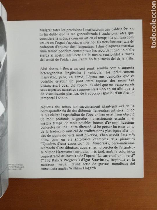 Arte: Ópera i Concepte - Xavier Carbonell - 1988 - Catálogo Exposición Pintura - Foto 8 - 188613025