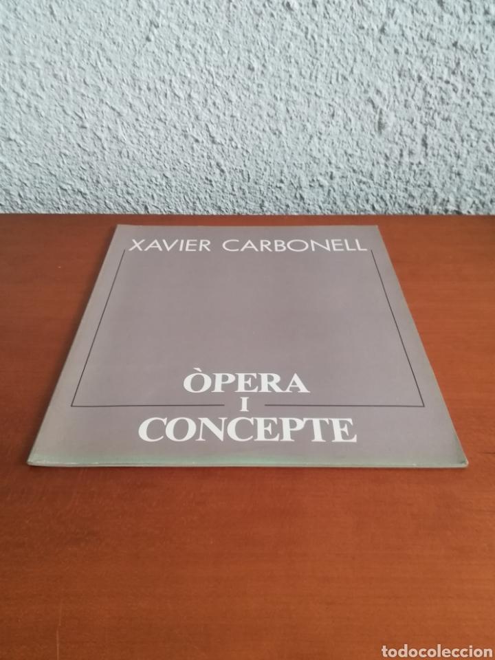 Arte: Ópera i Concepte - Xavier Carbonell - 1988 - Catálogo Exposición Pintura - Foto 2 - 188613025