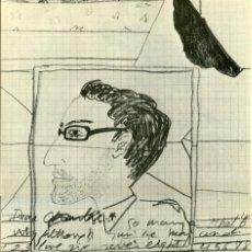 Arte: CATÁLOGO CARLOS FRANCO. GALERÍA BUADES, 1975. TABLOIDE 4 PÁGINAS 27 X 39,5 CM.. Lote 210651670