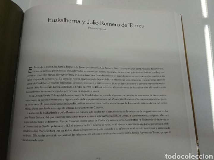 Arte: JULIO ROMERO DE TORRES LILY LITVAK M. VALVERDE MUSEO BELLAS ARTES BILBAO 2003 BIOGRAFÍA Y CATÁLOGO - Foto 8 - 189245320