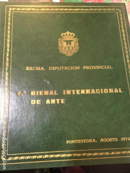 PONTEVEDRA. I BIENAL INTERNACIONAL DE ARTE. 1974 (Arte - Catálogos)