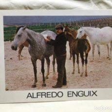 Arte: CATALOGO DIPTICP EXPOSICION PINTURA SALON CANO 1983 PINTURA ARTISTA ALFREDO ENGUIX . Lote 190312131