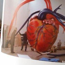 Arte: JAUME PLENSA, THE SECRET HEART, GASOMETER. Lote 190452648