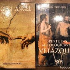 Arte: DOS MONOGRAFIAS. MIGUEL ANGEL / PINTURAS MITOLOGICAS VELAZQUEZ. Lote 190499615