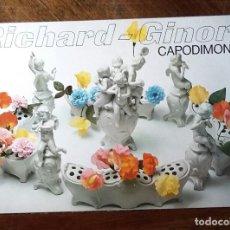 Arte: RICHARD-GINORI. CAPODIMONTE. DESPLEGABLE.. Lote 191357713