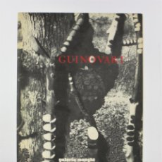 Arte: CATÁLOGO GUINOVART, GALERIA MAEGHT, 1977, BARCELONA. 32X23CM. Lote 192136957