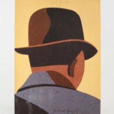 Arte: ARROYO, PINTURES, DIBUIXOS, COLLAGES, CERÀMIQUES OBJECTES I ALTRES, GALERIA MAEGHT, 1977, BARCELONA.. Lote 192139117