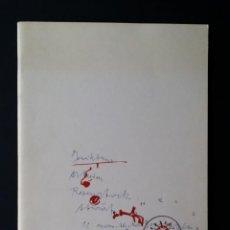 Arte: JOSEPH BEUYS: LIMITADO, ZEICHNUNGEN, OBJEKTE, 500 COPIAS, 1978. Lote 192571031