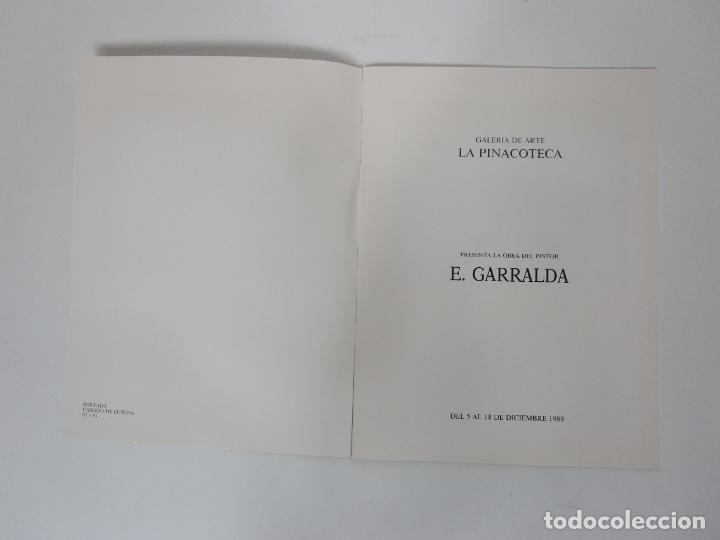 Arte: Catálogo E. Garralda - Galería de Arte La Pinacoteca, Barcelona - Temporada 1989-90 - Foto 2 - 192983287