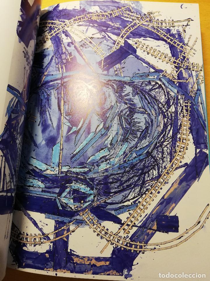 Arte: ARNALDO ROCHE RABELL. EN AZUL: SEÑALES DESPUÉS DEL TACTO / IN BLUE: SIGNALS AFTER TOUCH (FROTTAGES) - Foto 7 - 193037455
