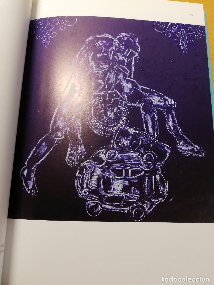 Arte: ARNALDO ROCHE RABELL. EN AZUL: SEÑALES DESPUÉS DEL TACTO / IN BLUE: SIGNALS AFTER TOUCH (FROTTAGES) - Foto 9 - 193037455