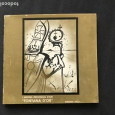 Arte: I MOSTRA PROVINCIAL D'ART FONTANA D'OR. GIRONA 1973. . Lote 193791475