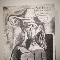 Arte: PABLO PICASSO, BLICK UND BILDNIS II, MUSEUM AM OSTWALL, DORTMUND, 1973. Lote 193955558