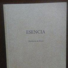 Arte: HUMBERTO DE ANCOS - ESENCIA - CENTRO CULTURAL SAN MARCOS. TOLEDO - 2011. Lote 194179470