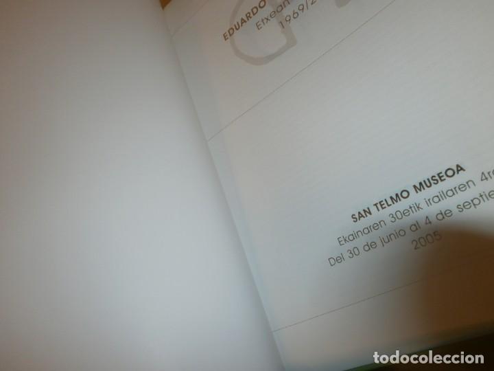 Arte: Eduardo Chillida Belzunce 1969 2004 San Telmo Museoa 2005 catálogo exposición 30X24.5 135 pg. - Foto 2 - 194197643