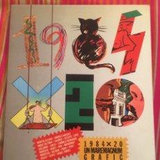 Arte: 1984X20. UN MAREMAGNUM GRÀFIC. EXPOSICIÓ LA CAIXA.. Lote 194343350
