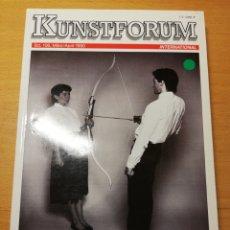 Arte: KUNSTFORUM BD. 106, MARZ / APRIL 1990 (KÜNSTLER - PAARE U. A. M.). Lote 194368370