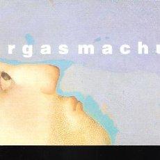 Arte: TETÉ VARGAS MACHUCA.NOVIEMBRE 2004. ART GEA, GALERÍA DE ARTE. TORREMOLINOS. TARJETA. 21 X 10 CM.. Lote 194606180