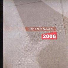 Arte: XIII CONCURSO FOTOGRÁFICO CIUDAD DE TORREMOLINOS. MARZO 2006. DESPLEGABLE ( 8 CARAS ). 21X10 CM.. Lote 194606451