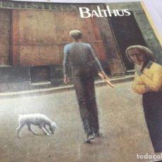 Arte: BALTHUS: CENTRE GEORGES POMPIDOU, MUSÉE NATIONAL D'ART MODERNE, PARIS, 5 NOVEMBRE 1983-1984. Lote 194659265