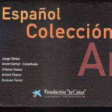 Arte: ARTE ESPAÑOL. COLECCIÓN DE ARTE CONTEMPORÁNEO. LA CAIXA.OCTUBRE 1998. MALAGA. SP (12 PÁGS). Lote 194712213