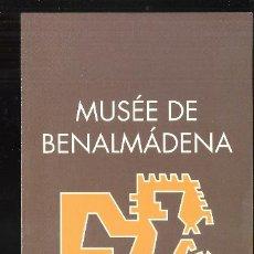 Arte: MUSÉE DE BENALMÁDENA. COLLECTION PRECOLOMBIENNE. DÍPTICO. 21X10 CM.. Lote 194713472