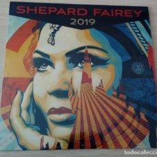 Arte: CALENDARIO SHEPARD FAIREY 2019, NUEVO, PRECINTADO . Lote 194733652