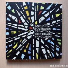 Arte: ANTONIO POVEDANO: CREACIÓN IDENTIDAD VANGUARDIA. CÓRDOBA, 2018. Lote 194741355