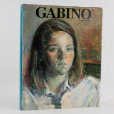 Arte: GABINO: ESTUDI D'UN PROJECTE PICTÒRIC, 1992, ARNAU PUIG, EDICIONES MAYO, BARCELONA. 31X25CM. Lote 194761406