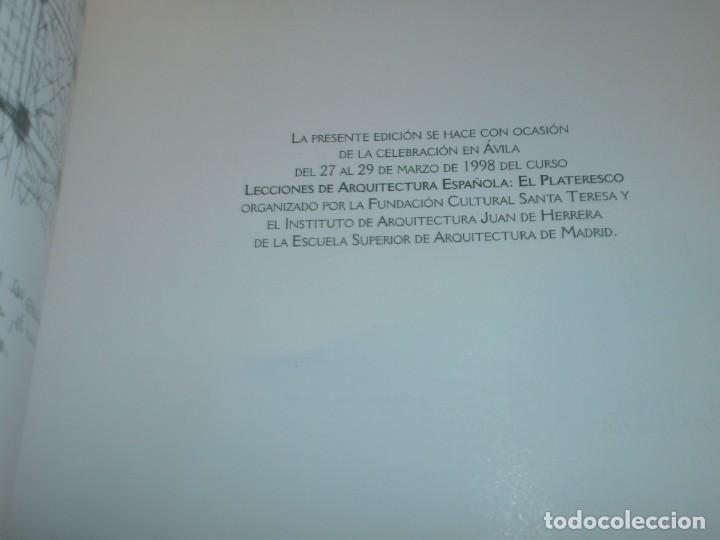 Arte: El plateresco Imagen de una España en tensión Fernando Chueca Goitia Avila 1998 24X17 cm. - Foto 8 - 194781968