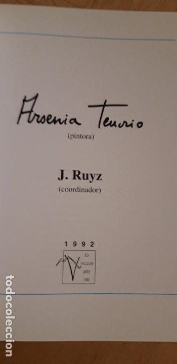 Arte: 1 CATÁLOGO DE ** ARSENIA TENORIO . PINTORA . ** 1992 VALLDUM ARTE - Foto 5 - 194785376