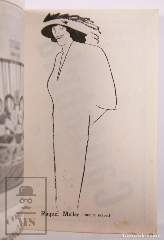 Arte: Catálogo de Exposición Año 1912. Jaume Pasarell, Caricaturas - Publicidad Badalona - Anís del Mono - Foto 5 - 194787707