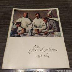 Arte: EXPOSICIÓN ZURBARÁN EN EL III CENTENARIO DE SU MUERTE. Lote 194892650