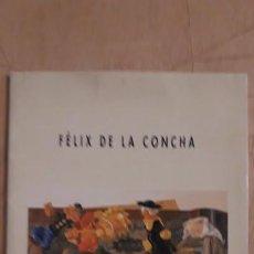 Arte: PEQUEÑO CATÁLOGO DE ** FÉLIX DE LA CONCHA . FUERA DE CAMPO ** GALERIA SIBONET. 1997 SANTANDER . Lote 194943166