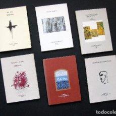 Arte: GALERÍA CORNIÓN. 6 CATÁLOGOS: MELQUIADES ÁLVAREZ, JOSÉ ARIAS, PELAYO ORTEGA, CARLOS VÁZQUEZ.... Lote 194952386