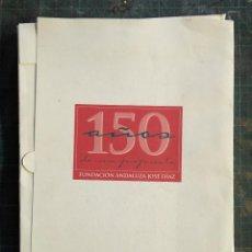 Arte: CARPETA DE POESÍA Y ARTE 150 AÑOS DE UNA PROPUESTA FUNDACIÓN ANDALUZA JOSÉ DÍAZ. Lote 195083796