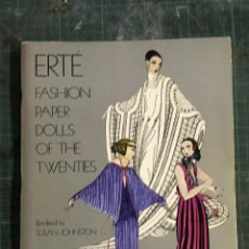 Arte: ERTE FASHION PAPER DOLLS OF THE TWENTIES. Lote 195083953