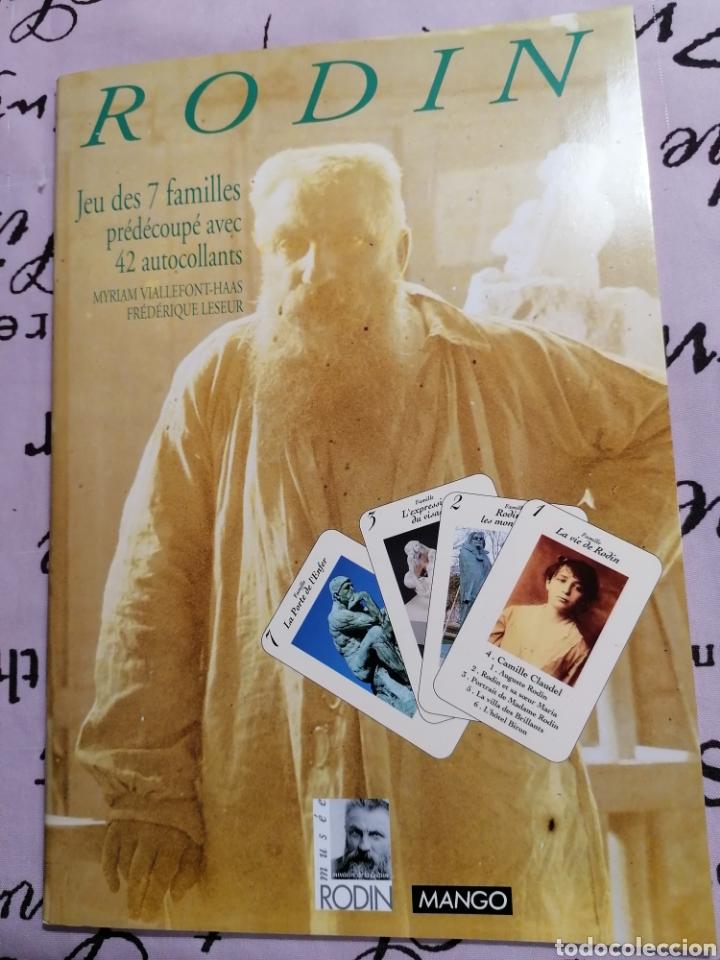 RODIN LIBRO DE CARTAS FOTOS DE ESCULTURAS (Arte - Catálogos)