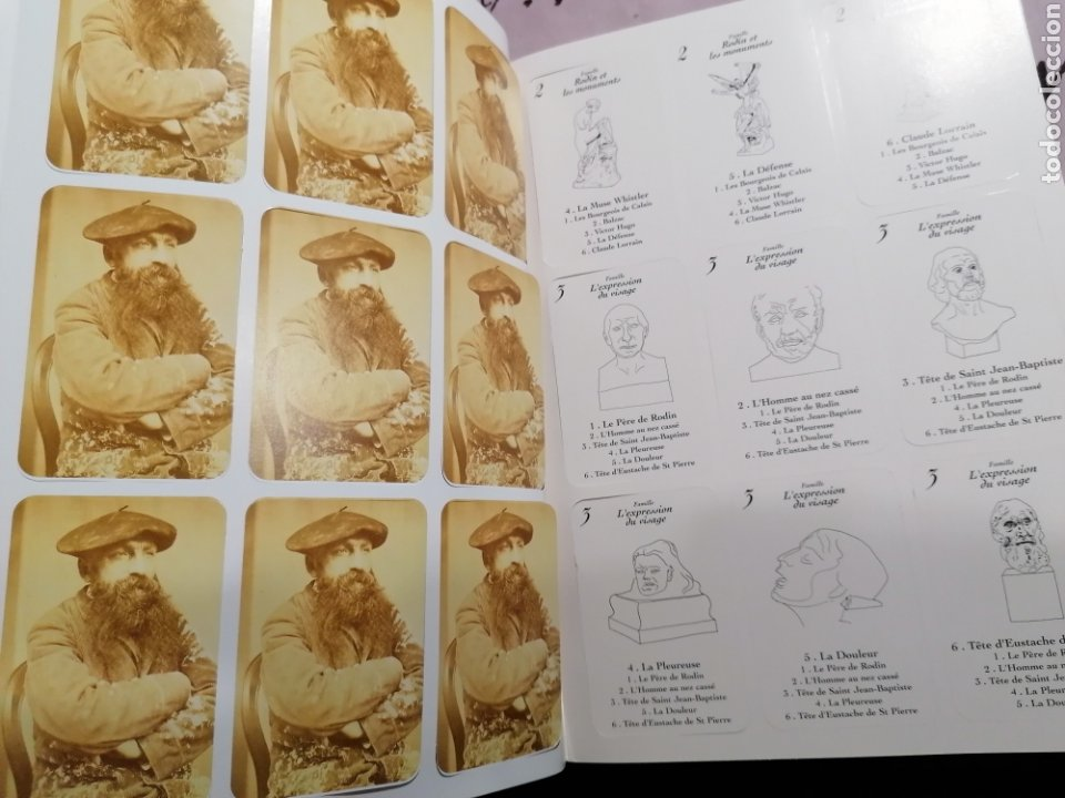 Arte: Rodin libro de Cartas fotos de esculturas - Foto 10 - 195137502